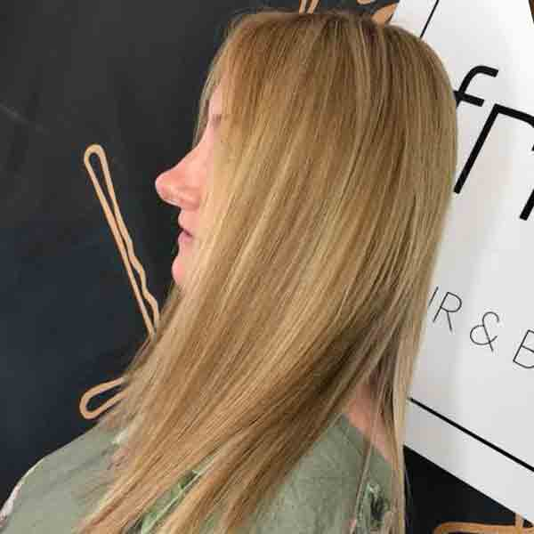 Hair Extensions at Fringe Salon Rugby